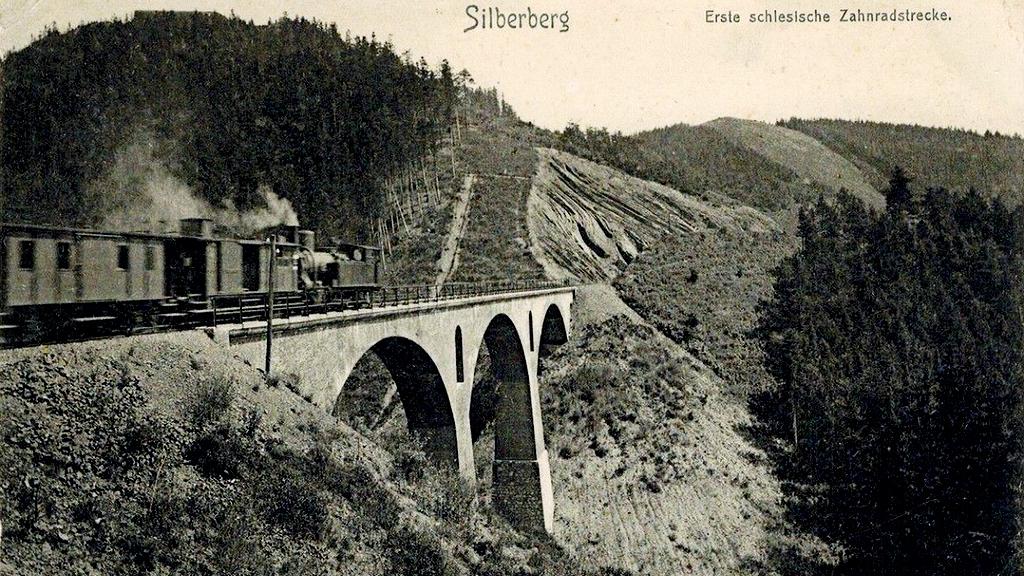 wiadukt srebrnogórski
